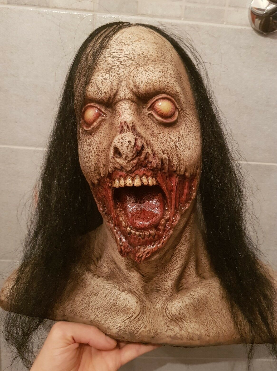 Life Größe Bust Bust-Größe 1 1 Zombie  The Walking Dead  Movie Art FX 37cm