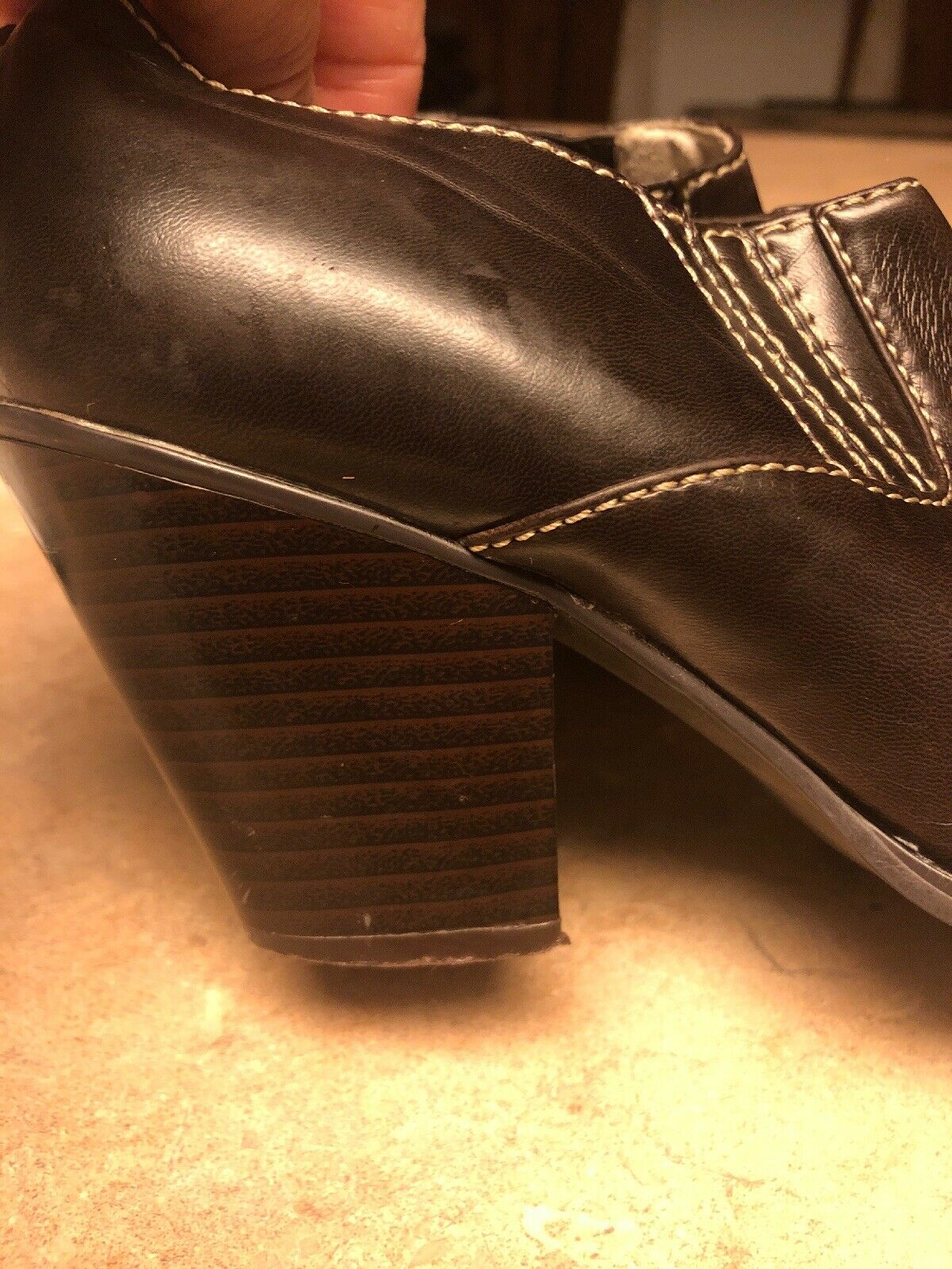 RAMPAGE Maura Closed Mules Cowboy Western Boot Sh… - image 10
