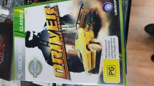 Driver San Francisco Xbox 360 For Sale Online Ebay