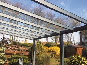 ALU Terrassenüberdachung mit VSG Glas Terrassendach Carport 3 x 2,5 Meter - Nordrhein-Westfalen - Bottrop, Deutschland - ALU Terrassenüberdachung mit VSG Glas Terrassendach Carport 3 x 2,5 Meter - Nordrhein-Westfalen - Bottrop, Deutschland