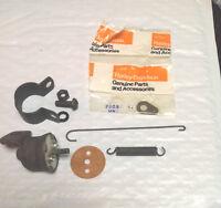 Harley Hummer Deluxe Brake Light Switch Kit 1948-1962 W/ Spring Clip & Mount