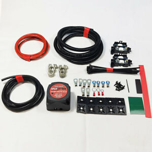 Details About MEDIUM DUTY SPLIT CHARGE KIT 2MTR 12V 140A AMP RELAY 70 CABLE
