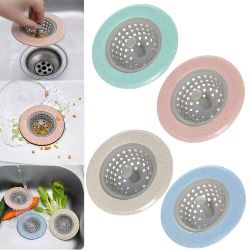 2PCS Kitchen Tool Water Sink Strainer Cover Floor Plug Stopper Filter Basket USA