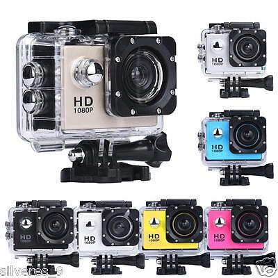 Mini HD 1080P se divierte la videocámara impermeable cámara de la acción