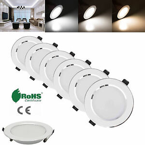 Dimmable-LED-3W-5W-7W-9W-12W-15W-18W-Recessed-Ceiling-Downlight-Panel-Light-Cree