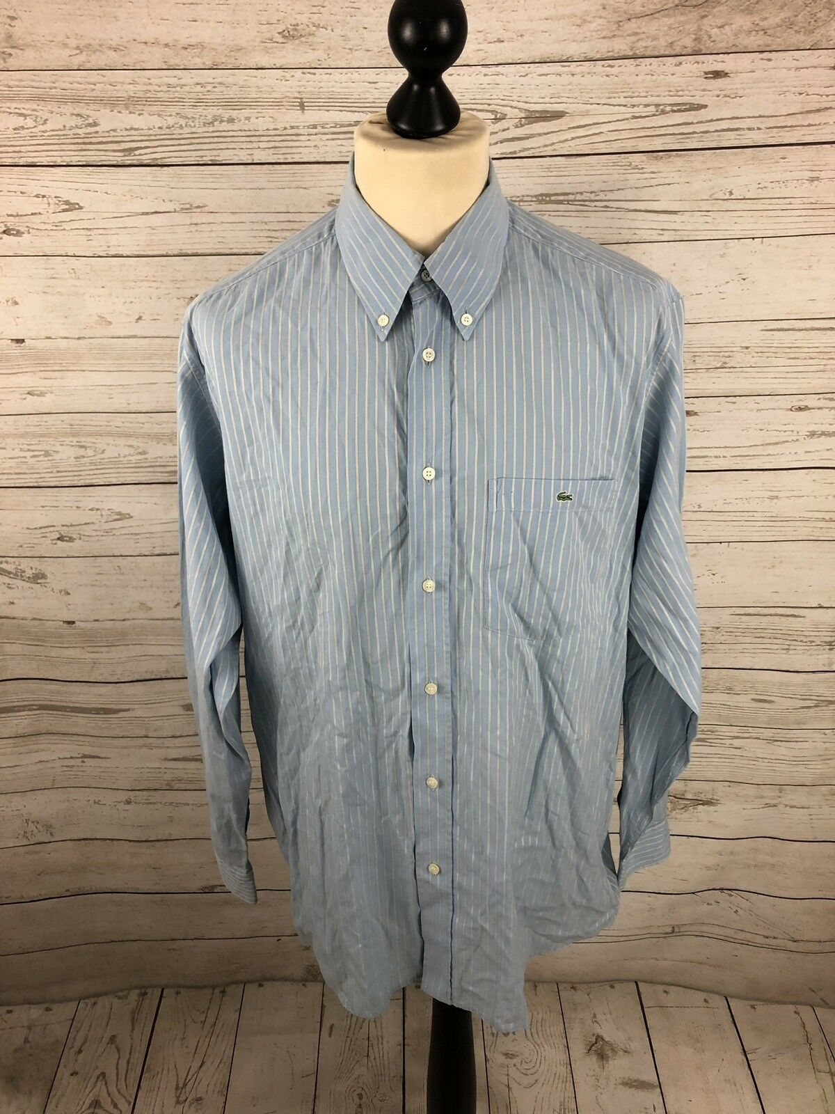 LACOSTE Shirt - Größe XL - Striped - Great Condition - Men's  | Elegant Und Würdevoll  | Passend In Der Farbe  | Verschiedene aktuelle Designs