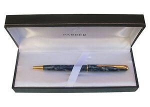 Parker Sonnet Mono Stainless Steel Twist  Ballpoint Pen New In Box