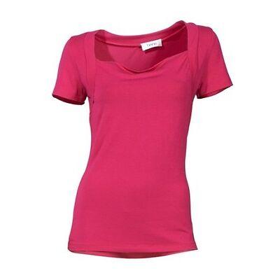 Shirt,Wasserfallshirt,Heine,Gr.34,36,38,40,42,44,46,95% Viskose, 5% Elasthan,neu