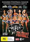 Lingerie Football League - Western Conference 2009/10 (DVD, 2010, 3-Disc Set)