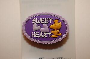 WOODSTOCK SWEET HEART LOVE VALENTINE HEART # 100  PEANUTS CHARLIE BROWN SNOOPY