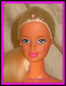 Can A real nude blond barbie words... super