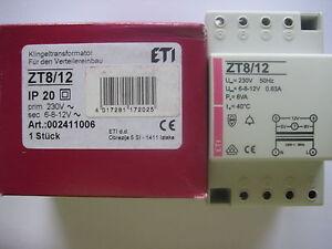 Klingeltrafo-Klingeltransformator-Einbau-6V-8V-12V-0-63A