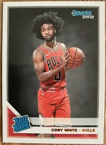 2019-20-Donruss-Rated-Rookie-Coby-White-206-RC-Rookie