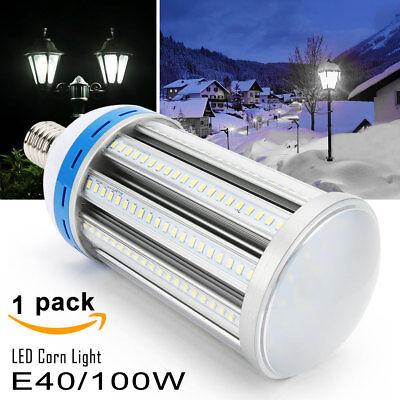 E39 100W LED Corn COB Light Bulb Retrofit 400W HID Warehouse High Bay Lamp 6000K