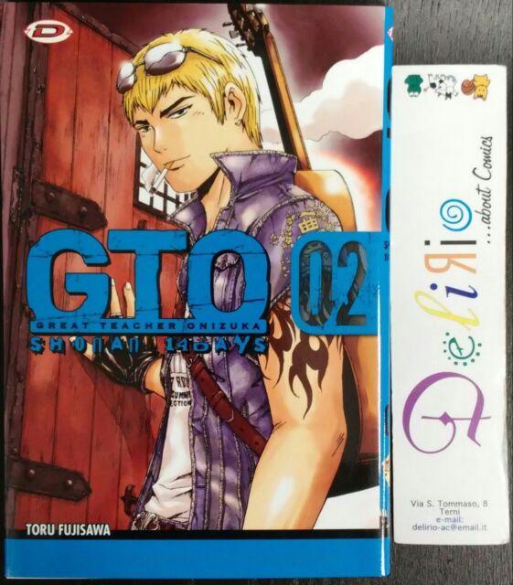 GTO SHONAN 14 DAYS VOL.2  Ed. DYNIT  SCONTO 5%