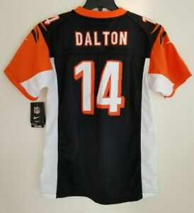 Details about NWT Andy Dalton Cincinnati Bengals Nike Limited Elite Youth XL Sewn Jersey