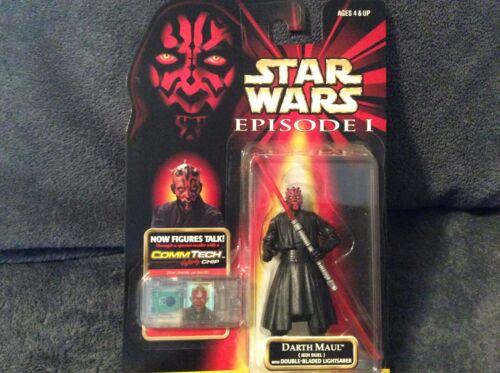 Star Wars Episode I comm Tech Chip Darth Maul Hasbro 1998 NEUF