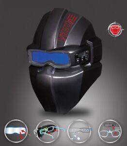 SERVORE Premium Auto Darkening Welding Goggle Arcshield-2 With Visor Black Color