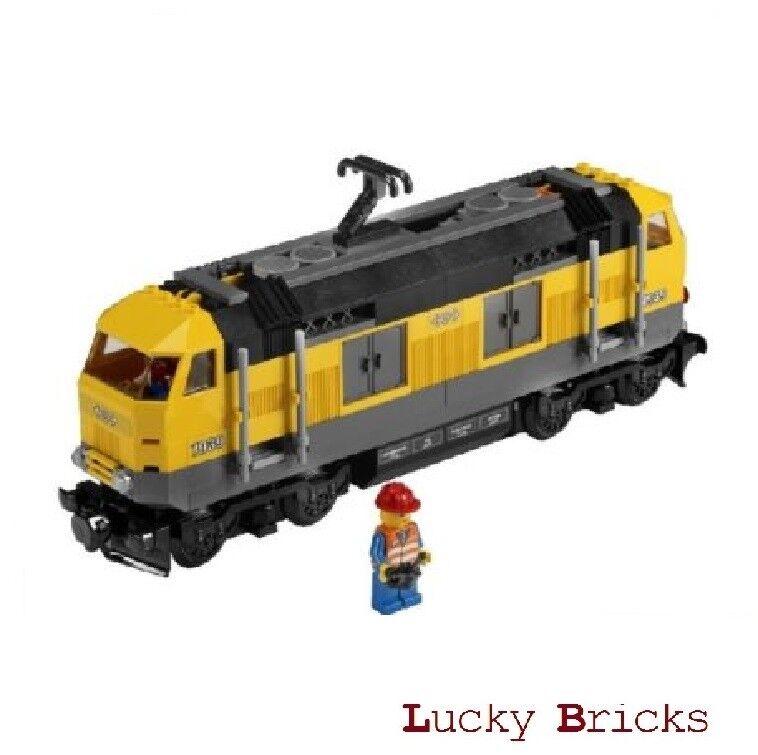 LEGO® Eisenbahn - Gelbe Lok aus 7939 Eisenbahn RC + vollständig und fahrbereit    Spielzeugwelt, glücklich und grenzenlos