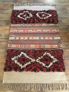 New Pottery Barn Scout Kilim Rug 3 X