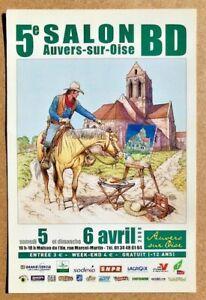 Carte Postale BD Lieutenant BLUEBERRY et Van GOGH / Michel BLANC-DUMONT / 2008
