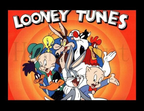 Looney Tunes Art print poster kids children home decor