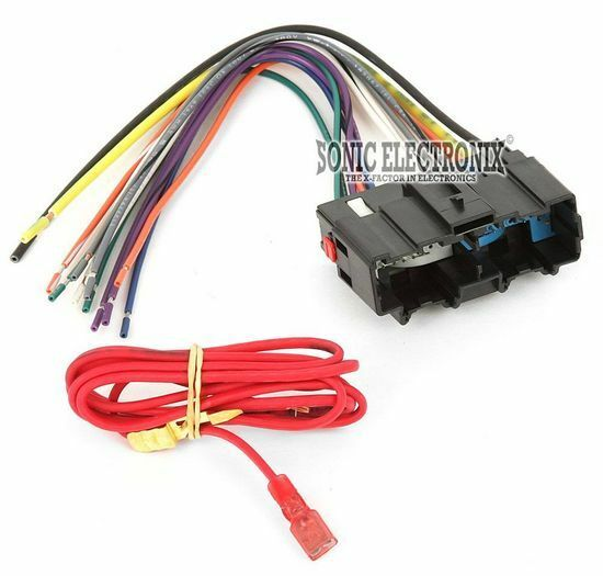 wire harness 06 hhr solstice ebay wirining harness metra 70 2104 car stereo wiring harness for 2006 up chevrolet hhr vehicles
