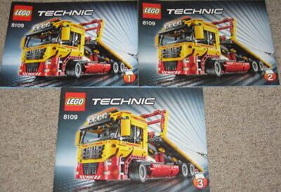 8109 Lego Technic 8109 Tieflader  Abschlepptruck mit Power Function ohne OVP