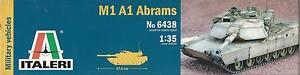 Italeri 1:35 Kit Réservoir En Plastique Et Résine M1 A1 Abrams Art 6438