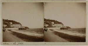 Nice Costa Azure Francia Foto Stereo St9T3n36 Vintage Citrato c1900