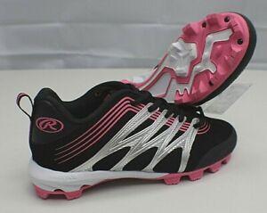 Pink Baseball Tee Ball Cleats ~NEW