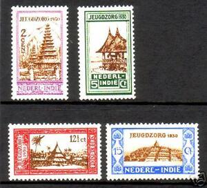 Nederlands-Indie-Jeugdzorgzegels-NVPH-nr-167-170