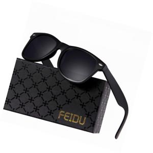 4a3b24eafc23 Image is loading Polarized-Sunglasses-for-Men-Retro-FEIDU-FD2149