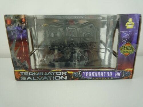 Terminator Salvation Hunter Killer combat Drone//Hélicoptère RC NOUVEAU /& Sealed