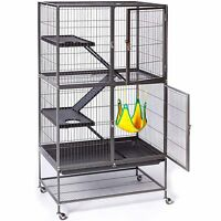 Best Large Small Animal Cage For Chinchilla Ferret Sugar Glider Tray Easy Clean