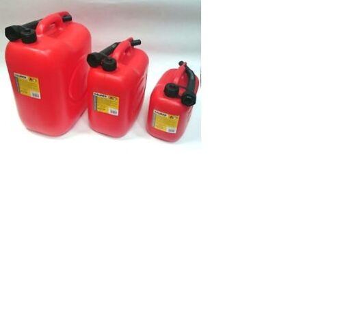 Tanica plastica Maurer trasporto infiammabili 5-10-20 lt  con tappo versatore