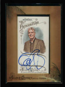 ANTHONY-BOURDAIN-2014-TOPPS-ALLEN-amp-GINTER-MINI-FRAMED-AUTOGRAPH-AUTO-FC3655