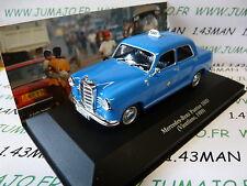 voiture 1/43 IXO Altaya TAXI du monde : MERCEDES BENZ Ponton 180D