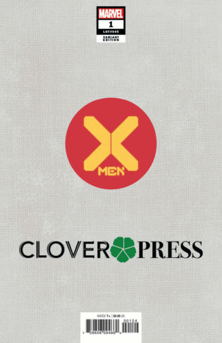 KEVIN EASTMAN CLOVER PRESS VARIANT X-MEN #1 SIGNED LIMITED TO 250 NM