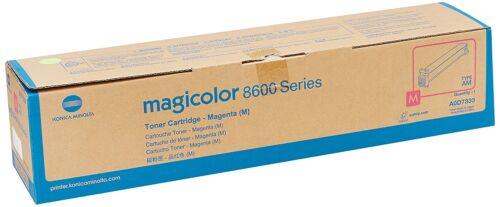 Genuine Konica Minolta Magicolor 8600 8650 Magenta toner Cartridge A0D7333 New