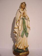 Madonna von Lourdes,Mutter Gottes Heiligenfigur,30 cm Polyresin Figur