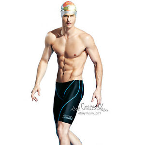 Boy-Mens-Racing-Racer-Swim-Swimming-Trunks-Shorts-Jammers-Fina-Approved