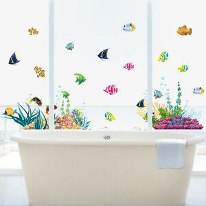 colorful-ocean-fish-kids-baby-bath-room-wall-decal-DIY-Wall-Decals-sticker