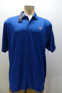 New UNDER ARMOUR Loose Heat Gear Pinehurst Golf Resort polo Shirt mens 2XL XXL