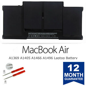 New-A1405-Battery-for-Apple-MacBook-Air-13-039-039-A1369-Mid-2011-amp-A1466-2012-A1496