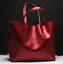 Women-Genuine-Cowhide-Real-Leather-Shoulder-Bag-Tote-Bags-Handbag-Shopping-Purse thumbnail 2