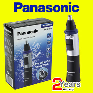 Panasonic-ER-GN30-K-Nose-Facial-and-Ear-Hair-Eyebrows-Trimmer-Washable-NEW