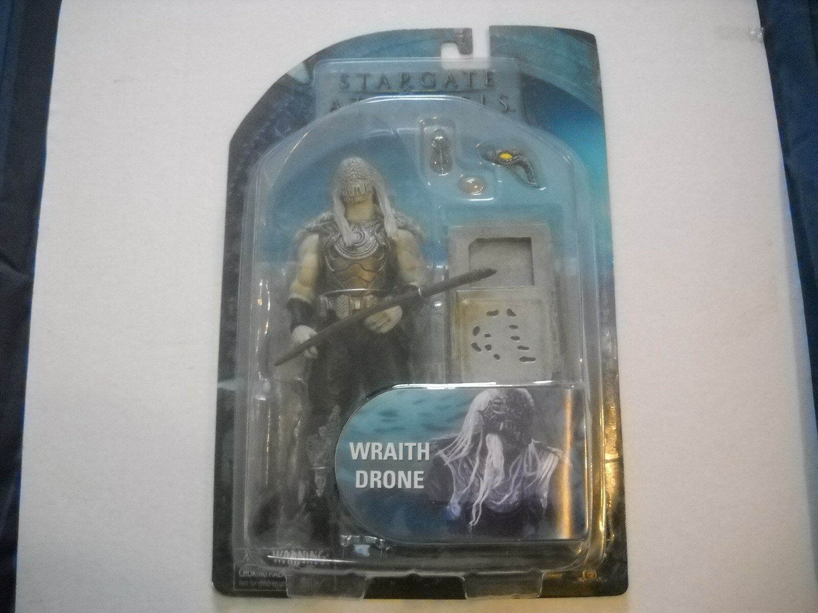 Diamond Select Stargate Atlantis Series Wraith Drone Action Figure