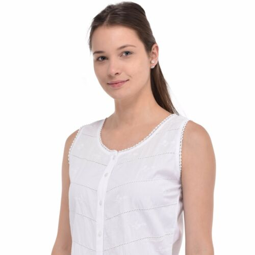 Women's White White Cotton White Women's Women's Top Top Cotton PqPrYzwRx