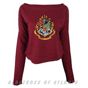 d23296e6f59511 Image is loading Gryffindor-Hogwarts-Harry-Potter-Crop-Tops